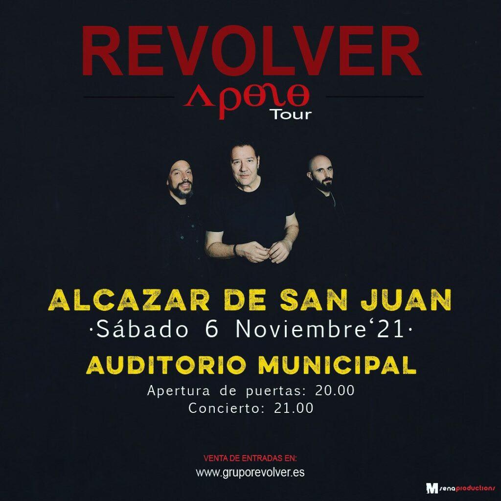 Revolver en concierto